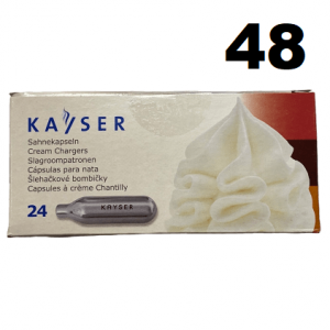 48 Cream Chargers