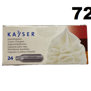 72 Cream Chargers