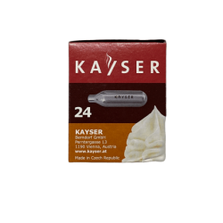 24 Kayser Cream Chargers side